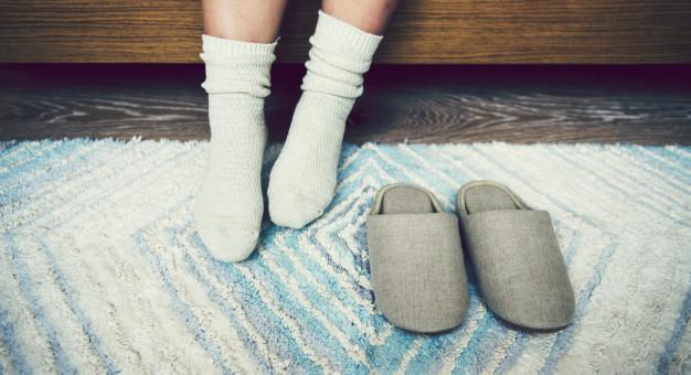 Quels chaussons mettre avec un pyjama ?